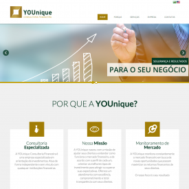 YOUnique Consultoria Financeira – Site